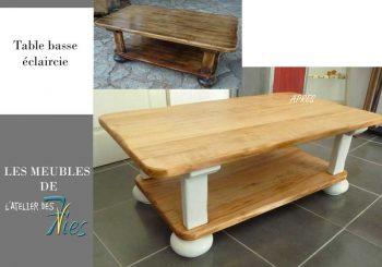 Une nouvelle table basse