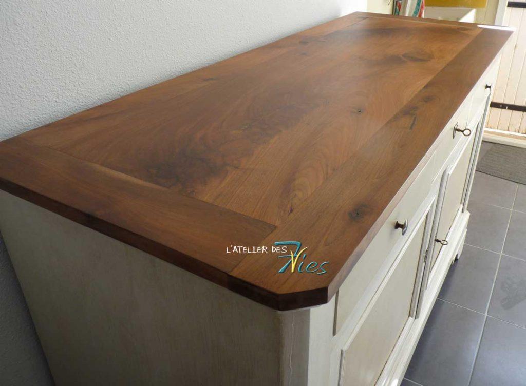 buffet patin 2 tons 7vies. Black Bedroom Furniture Sets. Home Design Ideas