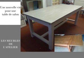 Relooking 7vies - Relooker une table de salon ...