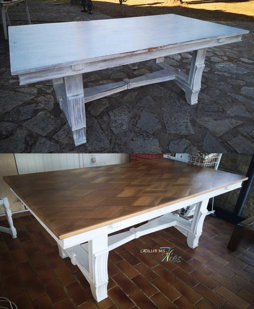 Table En Béton Ciré Et Bois les tables, tables basses, guéridons, bureaux - 7vies